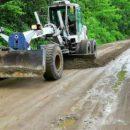 На Русском острове взялись за грунтовые дороги