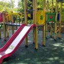 Во дворах Владивостока устанавливают детские площадки