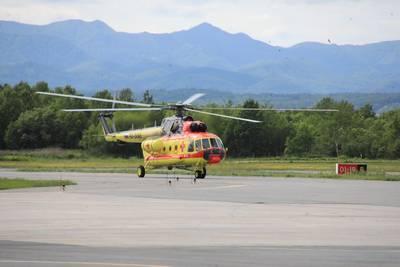 Сахалинская область получила санитарный вертолет