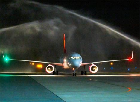 Juneyao Airlines начала выполнять полеты из Шанхая во Владивосток и обратно