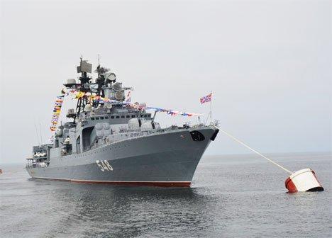 Боевые корабли ВМС Филиппин и Вьетнама впервые примут участие в параде в честь Дня ВМФ во Владивостоке