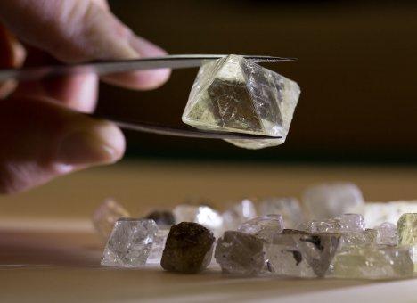 Во Владивостоке устроили распродажу алмазов