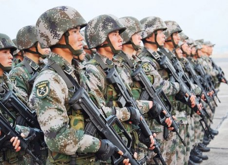 Китай сократил численность своей армии до двух миллионов