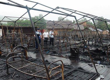 Арестованы владельцы палаточного лагеря в Хабаровском крае, где погибли дети