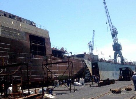 В Приморье готовят к спуску на воду самое большое за последние 30 лет судно