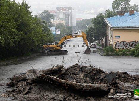 Во Владивостоке до 7 ноября закрыли улицу Капитана Шефнера на ремонт
