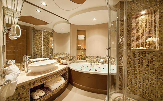 Украсьте свою ванную комнату мозаикой