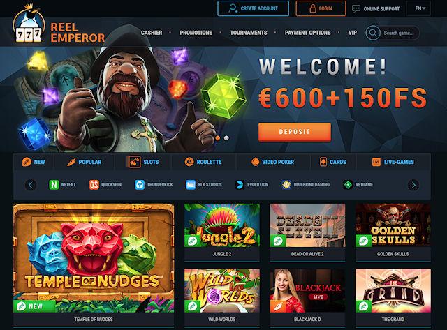 Онлайн-казино ReelEmperor - большие победы за короткое время
