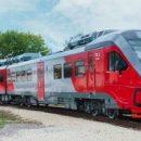 Три новейших скоростных поезда доставили на Сахалин
