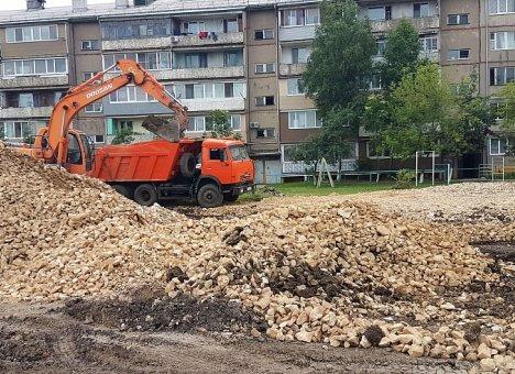 В Приморье начали строительство нового сквера