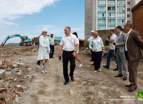 Глава Владивостока выезжает на объекты без предупреждения
