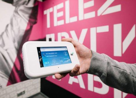 Tele2 получила скорость 2,1 Гбит/c на абонентском устройстве в сети 5G