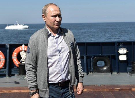 Путин начнет визит в Приморье с посещения