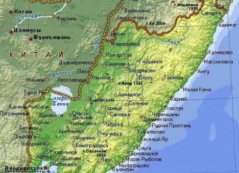 На карте Приморья появится ЧМО