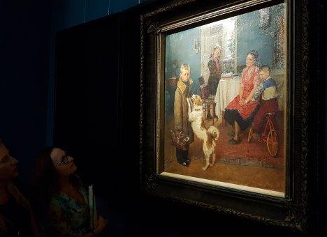 Выставка одной картины из собрания Третьяковской галереи открылась во Владивостоке