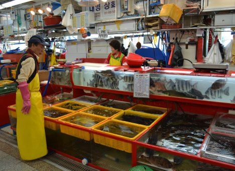Рыбный рынок в центре Владивостока обещают открыть в начале 2022 года