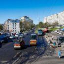 Ремонт дорог во Владивостоке ведется круглосуточно