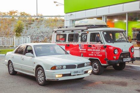 Во Владивостоке стартовал заключительный этап кругосветного путешествия