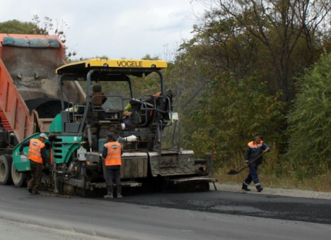 В Приморье завершен ремонт участка дороги Осиновка–Рудная Пристань