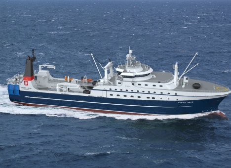 Первым супертраулерам Русской рыбопромышленной компании даны имена