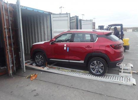 FESCO будет возить автомобили из Китая поездами