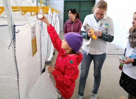 Во Владивостоке открыли первый пункт по раздельному сбору мусора