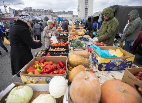 Во Владивостоке на центральной площади развернулась общегородская ярмарка
