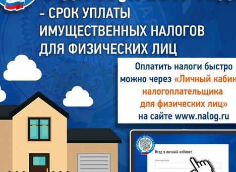 Жители Приморья должны оплатить налоги до 2 декабря