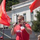 Бронепоезд Андрея Ищенко отогнали на запасной путь