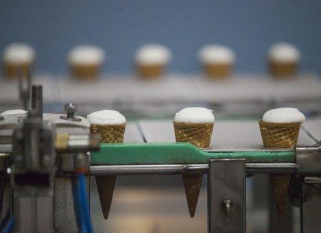 Почти 7 тонн мороженого из Приморья экспортировано в Китай