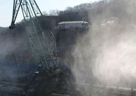 Портовые толстосумы тратятся на пылеуловители