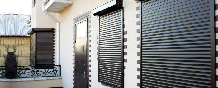 Рольставни на окна или двери от производителя