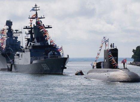 Тихоокеанский флот третий год подряд занял первое место среди флотов России