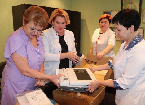 Энергетики подарили Центральной районной больнице Лучегорска медицинское оборудование