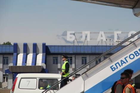 Главный аэропорт Приамурья обслужил рекордное количество пассажиров