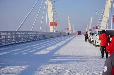 Международный мост через реку Амур в Приамурье готов к вводу в эксплуатацию