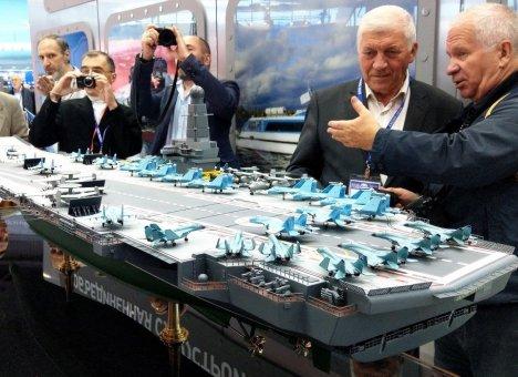 Новый российский авианосец будут строить в Приморье