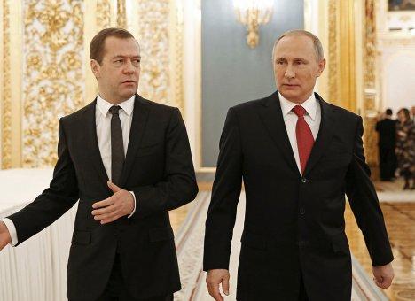 Медведев не согласился с Путиным!