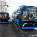 Новые электробусы проходят тест-драйв