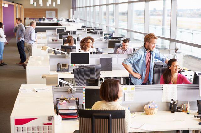 Как повысить уровень комфорта в офисе бизнес-центра open space