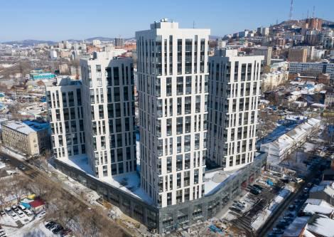 Во Владивостоке ввели в эксплуатацию жилой комплекс бизнес-класса