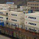 Начал курсировать контейнерный поезд из Новосибирска в Хабаровск