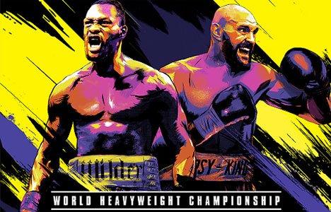 Wink покажет реванш боксеров Уайлдера и Фьюри в прямом эфире