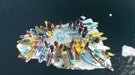 Владивостокское сообщество саперов посвятило Часу Земли акцию проводов льдины в Тихий океан