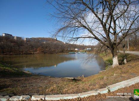 Во Владивостоке в парке Минного городка отремонтируют ливневую канализацию