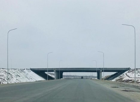 В Приморье строители укрепляют основание новой автодороги из Владивостока в Большой Камень