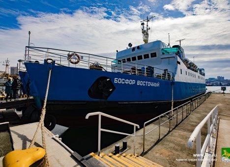 Во Владивостоке морской прибрежный транспорт перешел на усиленную дезинфекцию