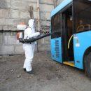 Во Владивостоке усилят работу по дезинфекции городского транспорта