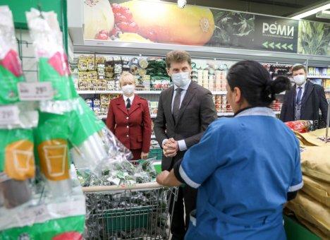 Санитарно-эпидемиологический режим усилят в торговых сетях Приморья