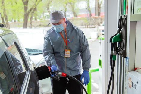 ННК бесплатно заправляет автоволонтеров на своих АЗС